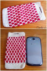 Crochet Mobile Cover Pattern (18)