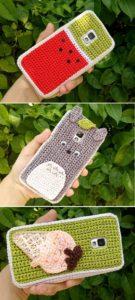 Crochet Mobile Cover Pattern (30)
