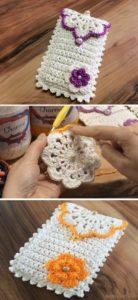 Crochet Mobile Cover Pattern (32)