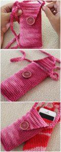 Crochet Mobile Cover Pattern (34)