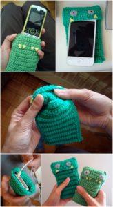 Crochet Mobile Cover Pattern (37)
