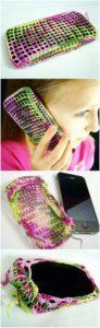 Crochet Mobile Cover Pattern (38)
