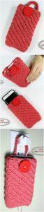 Crochet Mobile Cover Pattern (42)