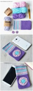 Crochet Mobile Cover Pattern (45)