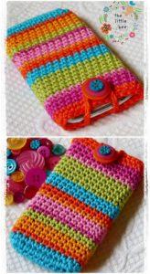 Crochet Mobile Cover Pattern (48)