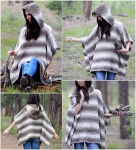Crochet Poncho Pattern (10)