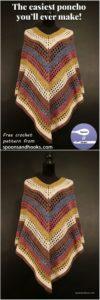 Crochet Poncho Pattern (13)