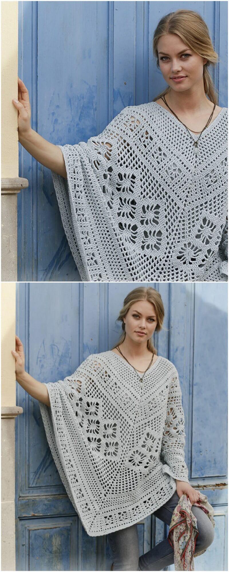 Crochet Poncho Pattern (14)