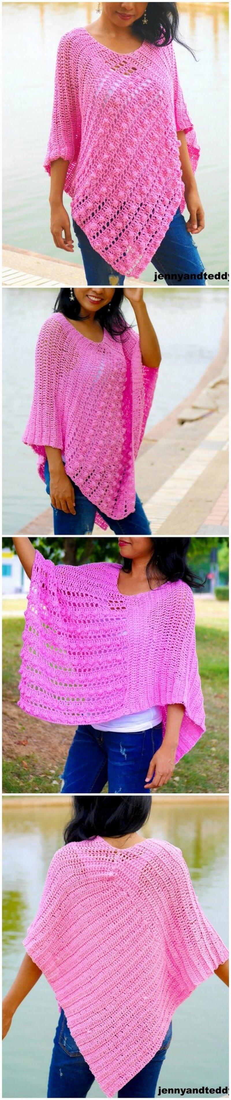 Crochet Poncho Pattern (49)