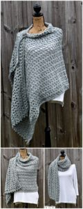 Crochet Shawl Pattern (9)