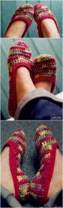 Crochet Slipper Pattern (10)