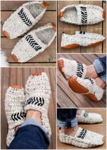 Crochet Slipper Pattern (13)