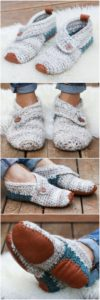 Crochet Slipper Pattern (15)