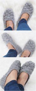 Crochet Slipper Pattern (17)