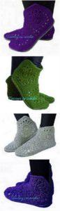 Crochet Slipper Pattern (19)