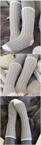 Crochet Slipper Pattern (2)