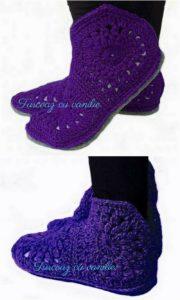 Crochet Slipper Pattern (20)