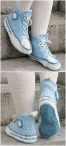 Crochet Slipper Pattern (22)