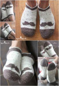 Crochet Slipper Pattern (28)