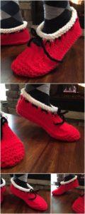 Crochet Slipper Pattern (29)