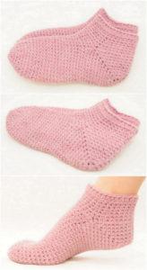 Crochet Slipper Pattern (3)