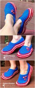 Crochet Slipper Pattern (33)