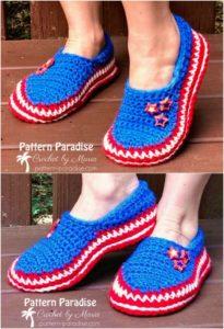 Crochet Slipper Pattern (34)