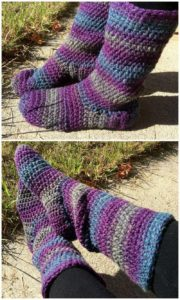 Crochet Slipper Pattern (40)