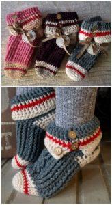 Crochet Slipper Pattern (43)