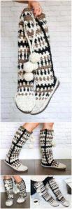 Crochet Slipper Pattern (45)