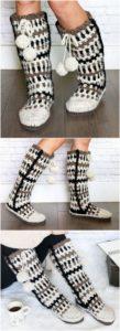 Crochet Slipper Pattern (46)