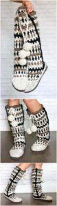 Crochet Slipper Pattern (47)