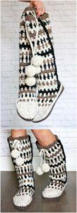 Crochet Slipper Pattern (48)