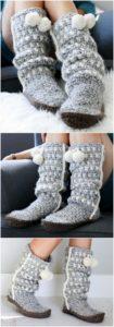 Crochet Slipper Pattern (49)