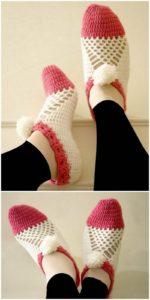 Crochet Slipper Pattern (53)