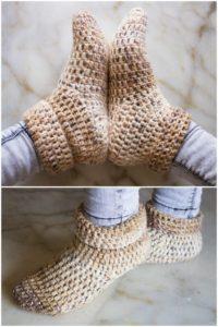 Crochet Slipper Pattern (56)