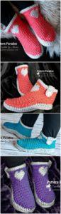 Crochet Slipper Pattern (59)