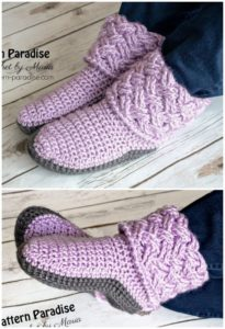 Crochet Slipper Pattern (61)