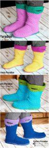 Crochet Slipper Pattern (62)