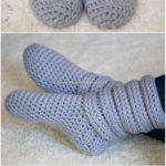 Crochet Slipper Pattern (66)