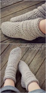 Crochet Slipper Pattern (67)