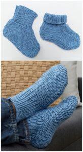 Crochet Slipper Pattern (7)