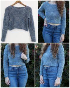 Crochet Sweater Pattern (10)
