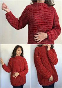 Crochet Sweater Pattern (15)