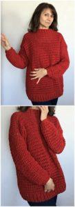 Crochet Sweater Pattern (16)
