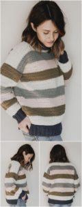 Crochet Sweater Pattern (21)