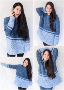 Crochet Sweater Pattern (24)