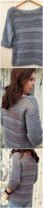 Crochet Sweater Pattern (3)