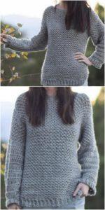 Crochet Sweater Pattern (35)