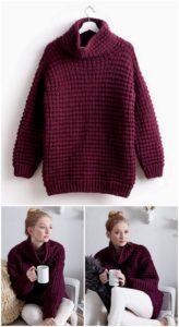 Crochet Sweater Pattern (40)